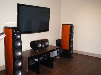 College Station Home Theater Room With High End System